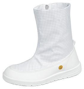 ESD professional shoes clean room, boots white, size 39