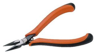 Snipe nose pliers, ergo, smooth gripping surfaces, 135 mm