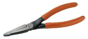 Flat nose pliers, burnished, 140 mm
