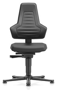 ESD chair NEXXIT 1, with glider, integral foam, without handles