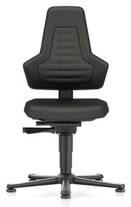 ESD Chair NEXXIT 1, with glider, Supertec black, without handles