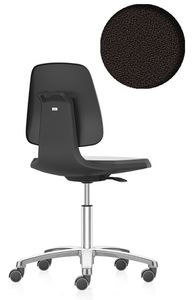 ESD chair Labsit 2 with castors, fabric Duotec black