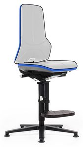 Neon 3 work chair glider and climbing aid, Flexband blue, permanent contact