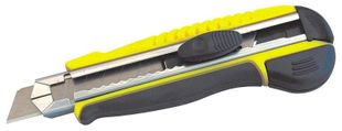 Cutter knife with 18 mm snap-off blade