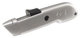 Safety knife, automatically retracting