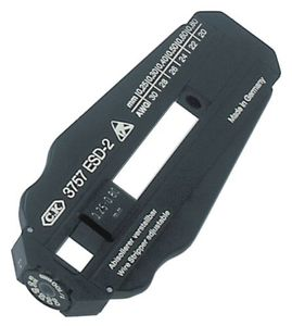 ESD precision stripper, adjustable 0.25 - 0.80 mm