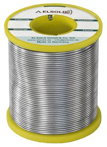 Solder wire Sn99,3Cu0,7, 0,75 mm / C3 (lead-free)