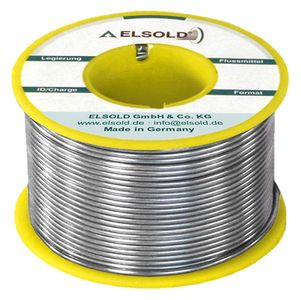 Solder wire Sn99Ag0,3Cu0,7, 0,5 mm / C3+ (lead-free)