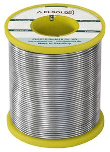 Solder wire Sn99Ag0,3Cu0,7, 1,0 mm / C3+ (lead-free)
