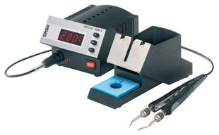 Soldering station temperature controlled 80 W, with chip tool 2x20 W
