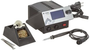2-channel soldering station with SD-Slot & i-Tool 150 W