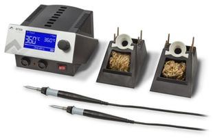 2-channel soldering station 150 W, SD-Slot & i-Tool