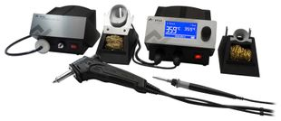 2 channel soldering station & vacuum, with i-Tool 150 W & X-Tool Vario 150 W