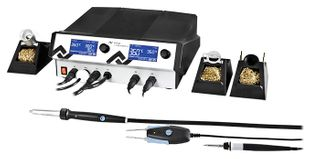 4 channel soldering and hot air station with vacuum, i-Tool 150 W, Chip-Toolvario 2x40 W & Air-Tool 200 W