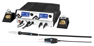 4 channel soldering and hot air station with vacuum, without tools