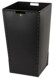 ESD trash can, square, 110 litres