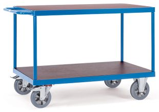 Table trolley, 2 shelves, 1200 kg, 1200 x 800 mm