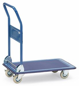 All-steel trolley, 1 shelf, 150 kg, 740 x 480 mm