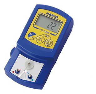 Soldering tip temperature measuring instrument, with calibration certificate