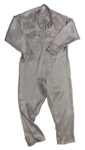 Cleanroom overall light, grey