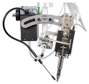 Automatic soldering unit for difficult soldering applications