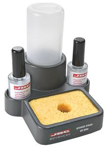 Sponge stand with water tank