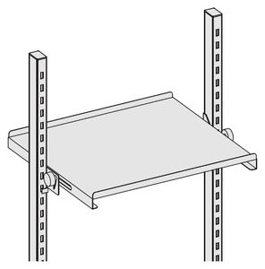 Storage board Sintro inclinable for Euronorm container, 860 x 600 x 55 mm