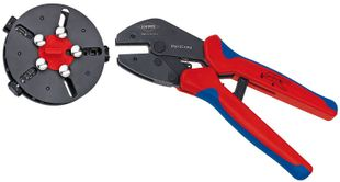 MultiCrimp® crimping pliers, with change magazine burnished 250 mm