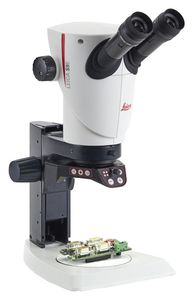 Stereo microscope head S9I E with integrated 10 MP camera