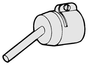 Hot air nozzle, 5 mm, for GHIBLI