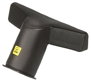 ESD upholstery nozzle for ESD vacuum cleaner