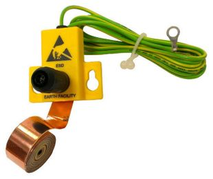 ESD Earthing set with copper band, L = 1 m
