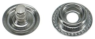 Push button, 10 mm, complete