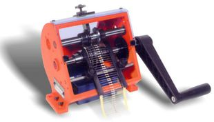 Cutting and bending machine