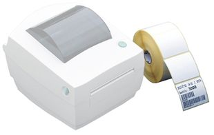 Roll of labels for thermal printer