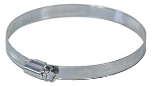Worm-drive clamp, 140 - 160mm