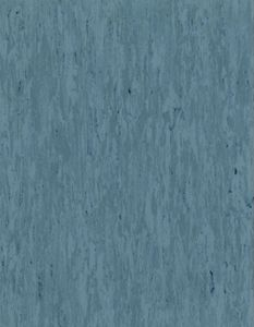 ESD floor covering DUO 2.0, blue, 1500 x 2 mm, roll length according to customer requirements
