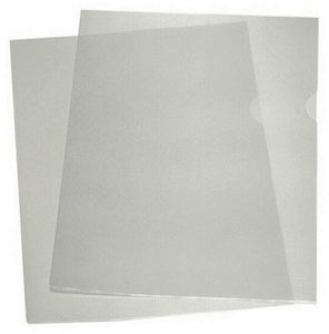 ESD document sleeves IDP-STAT, DIN A4, 2 pages open
