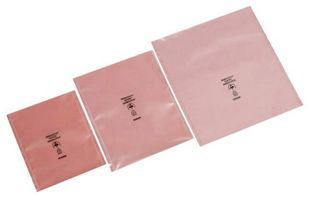 ESD PERMASTAT Packaging bag, pink, 300 x 400 x 0.1 mm