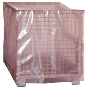 ESD PERMASTAT side gusseted bag, pink, 1250 x 850 x 900 x 0.15 mm