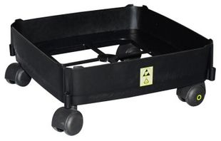 Trolley with castors for ESD trash can 90 liters