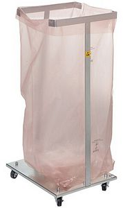 Garbage bag stand, 30 kg capacity, 125 litres