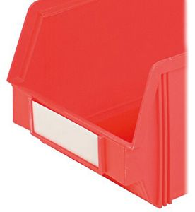 Identification plates, for open fronted storage bins 5320.5/5321 R5/Y5