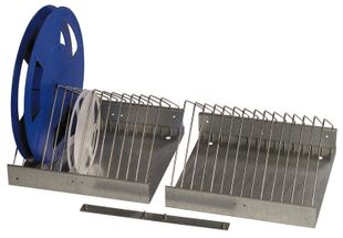 ESD SMD coil stand, coil diameter 180-380 mm, metal