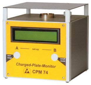 Charged Plate Monitor CPM 74, analog