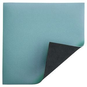 ESD Table cover Premium, light blue, 1000 x 10000 x 2 mm, roll material