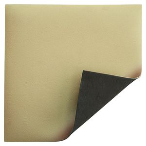 ESD table cover Premium, beige, 1000 x 10000 x 2 mm, roll material