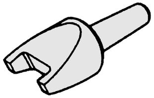Soldering tip A/1 for components 1.0 x 1.2 mm, 12 x 1.0 mm, 1.2 x 1.2 mm, 1.6 x 0.8 mm