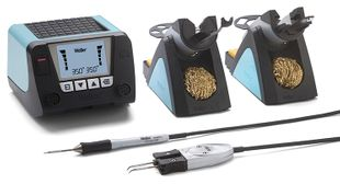 2-channel soldering station set, digital 150 W with WMRT and WMRP
