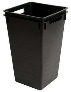 ESD trash can, square, 40 litres
